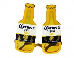 Anteojos Cerveza Gold $ 1.800