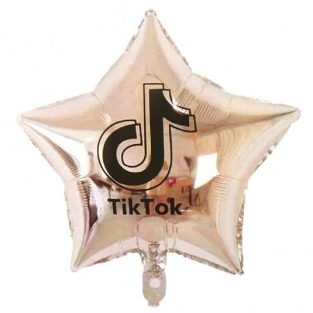 Globo Estrella Tik Tok  Cotillón Tik Tok