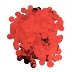 Confetti Brillante Rojo 30 gr  Decoración Cumpleaños y Fiestas
