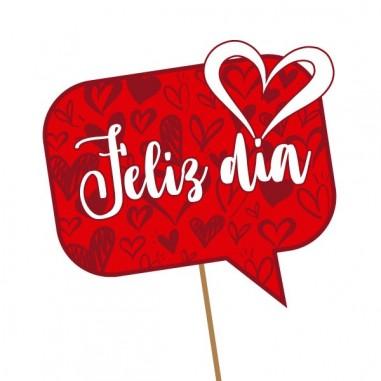 Burbuja Decoración Feliz Día  Cotillón Día de los Enamorados