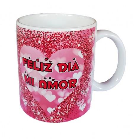 Tazón San Valentín Corazones  Cotillón Día de los Enamorados