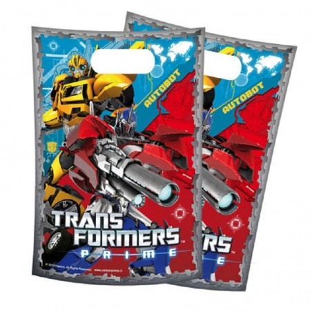 Pack Cumpleaños Transformers x 12  Cotillón Transformers