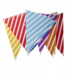 Banderines Multicolor  Guirnaldas y Colgantes