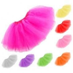 Faldita Tutú Colores  Disfraces Niñas y Niños
