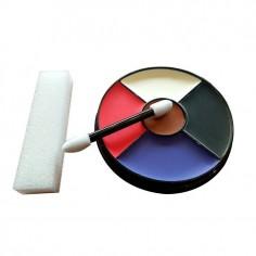 Set Maquillaje 5 Colores 8,5 grs  Accesorios Cotillón