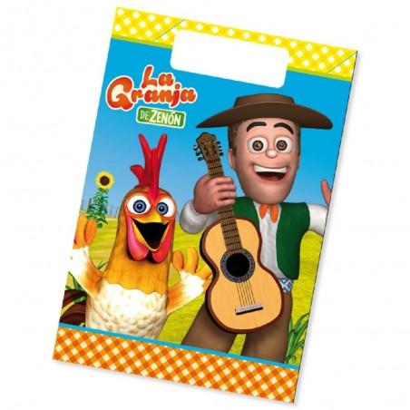 Pack Cumpleaños La Granja De Zenón x 6  Cotillón La Granja de Zenón