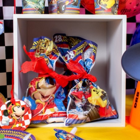 Pack Cumpleaños Mickey Mouse x 6  Cotillón Mickey Mouse