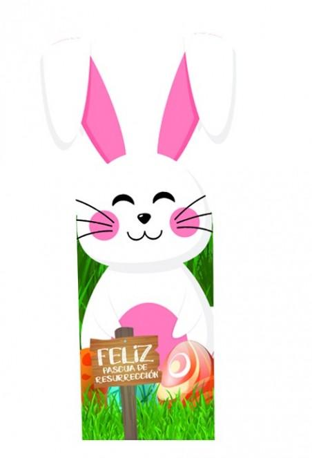 Cajita de Pascua Conejo x 6  Pascua de Resurrección