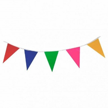 Banderín Tela Colores  Guirnaldas y Colgantes