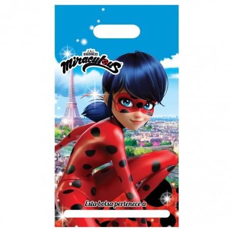 Pack Cumpleaños Ladybug x 6  Cotillón Ladybug