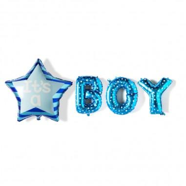 Globo It´s a Boy Estrella  Baby Shower y más