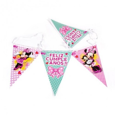 Pack Cumpleaños Minnie Mouse x 6  Cotillón Minnie Mouse