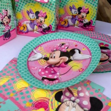 Pack Cumpleaños Minnie Mouse x 18  Cotillón Minnie Mouse