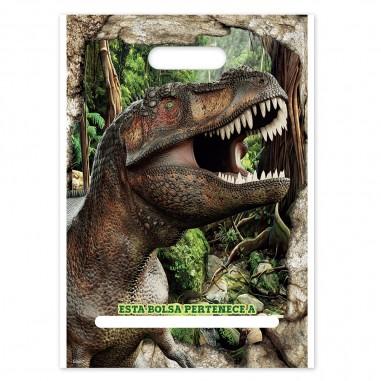 Bolsa Dulces Dinosaurio x 6  Cotillon Dinosaurio