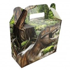 Caja Sopresa Dinosaurio x 6  Cotillon Dinosaurio