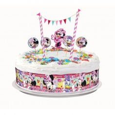 Deco Torta Minnie Mouse  Cotillón Minnie Mouse