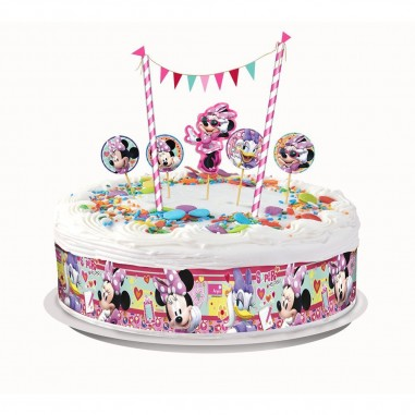 Deco Torta Minnie Mouse  Cotillón Minnie Mouse