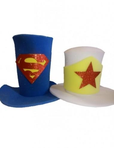 Gorro Novios Superheroes  Cotillon Novios - Matrimonios