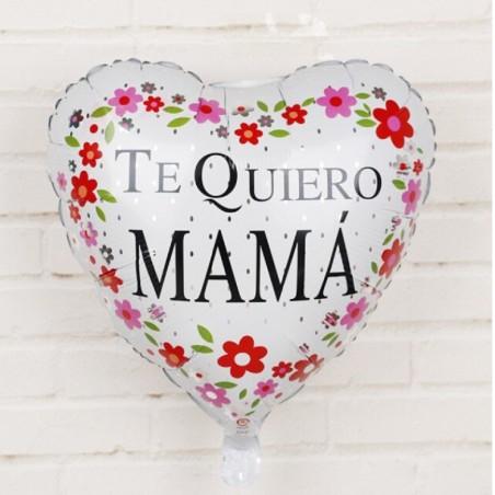 """Globo Corazón """"Te Quiero Mamá""""  Cotillón Día de la Madre y Enamorados"""