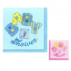 Servilletas Baby Shower Niño y Niña  Baby Shower y más
