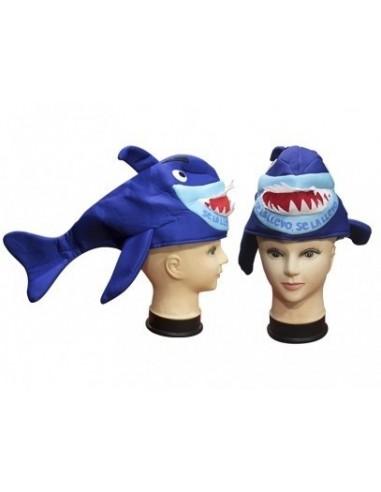 Gorro Tiburón  Gorros de Cotillón