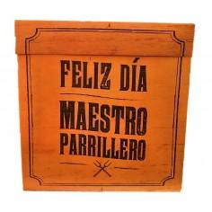 Caja de Regalo Día del Padre Parrillero  Cotillón Día del Padre/Madre/San Valentín
