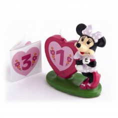 Vela Minnie Mouse 3d  Velas