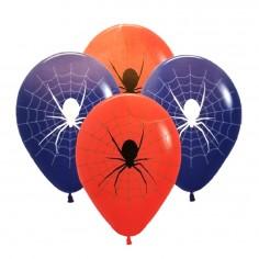 Globos Cumpleaños Araña x 25  Cotillón Spidermann