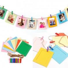 Banderín Fotos Colores  Guirnaldas y Colgantes