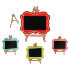 Mini Pizarra Colores Con Atril 15 X 12 Cm  Decoración Cumpleaños y Fiestas