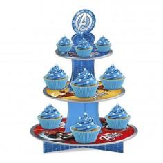 Bandeja Cupcake Avengers  Cotillon Avengers
