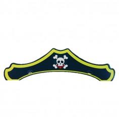 Gorros Cumpleaños Pirata x 6  Cotillón Pirata