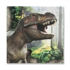Servilletas Dinosaurio x12  Cotillon Dinosaurio