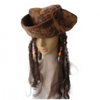 Gorro Pirata del Caribe  Gorros de Cotillón