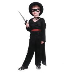 Disfraz El Zorro Niño Cotillón Activarte Cotillón Espacial