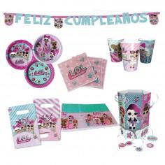 Pack Cumpleaños LOL x 6  Cotillón LOL