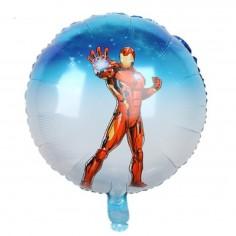 Globo Metálico Avengers Ironman  Cotillon Avengers