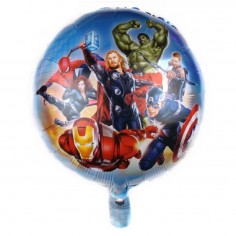 Globo Metálico Avengers Superhéroes  Cotillon Avengers