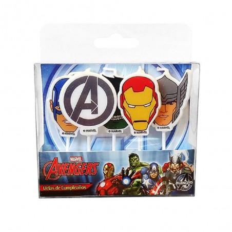 Pack Cumpleaños Avengers x 6  Cotillon Avengers