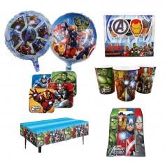 Pack Cumpleaños Avengers x 12  Cotillon Avengers