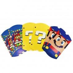 Caja Sorpresa Súper Mario x 6  Cotillón Mario Bros