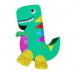 Piñata Dinosaurio 2D  Cotillon Dinosaurio