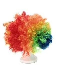 Peluca Afro Multicolor  Pelucas