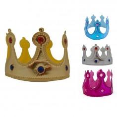 Corona Metalizada Colores  Líneas Cumpleaños