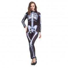 Disfraz Esqueleto Mujer  Cotillón y Disfraces Halloween