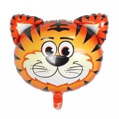 Globo Metálico Tigre  Cotillón Animalitos