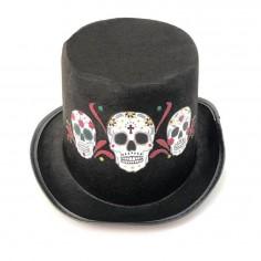 Sombrero Copa Catrina  Accesorios Halloween