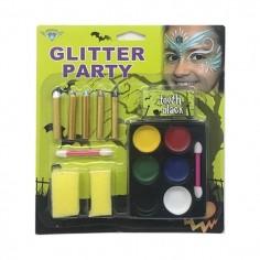 Set Maquillaje Colores 11un  Accesorios Cotillón