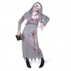 Disfraz Monja Zombie  Disfraces Adultos
