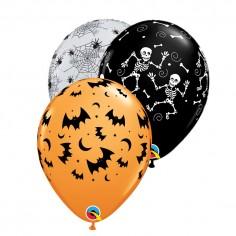 Globos Látex Premium Halloween x 12  Decoración Halloween